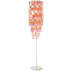 capiz floor lamp